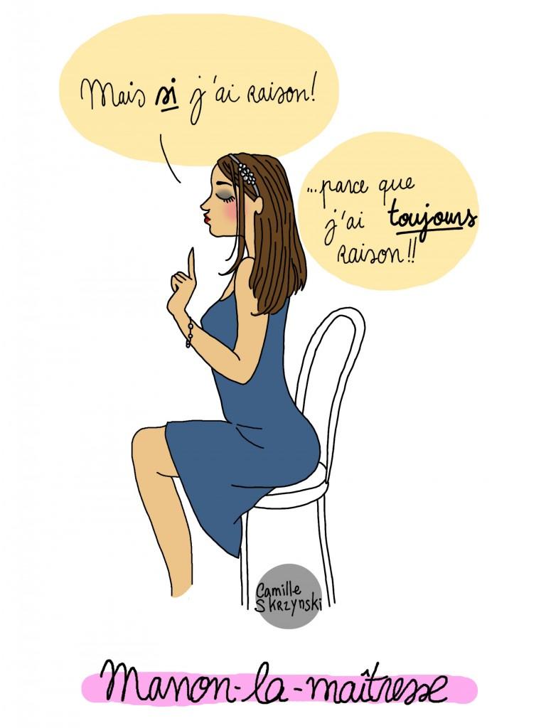 Manon - Droit d'auteur: Camille Skrzynski