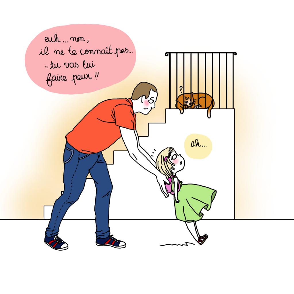 chat qui vole3 - Droits d'auteur: Camille Skrzynski