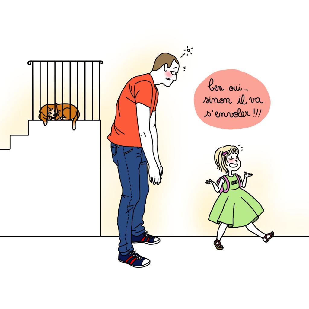 chat qui vole4 - Droits d'auteur: Camille Skrzynski