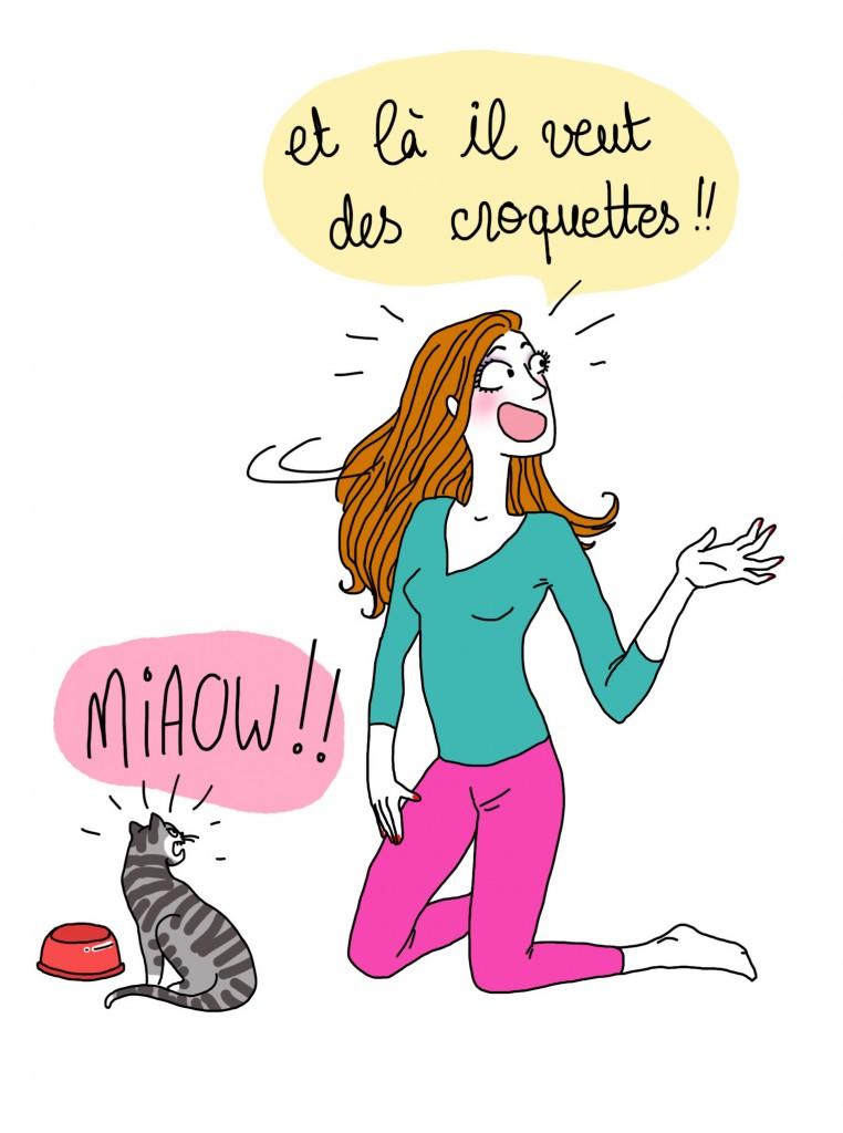 Langue des chats 3 - Droits d'auteur : Camille Skrzynski