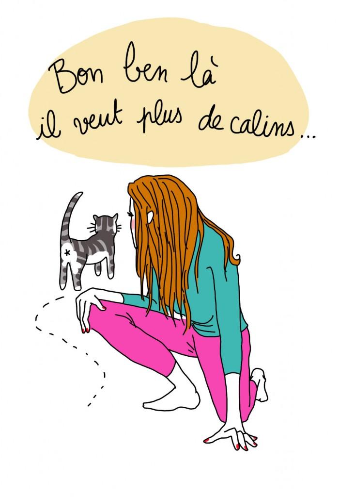 Langue des chats 5 - Droits d'auteur : Camille Skrzynski
