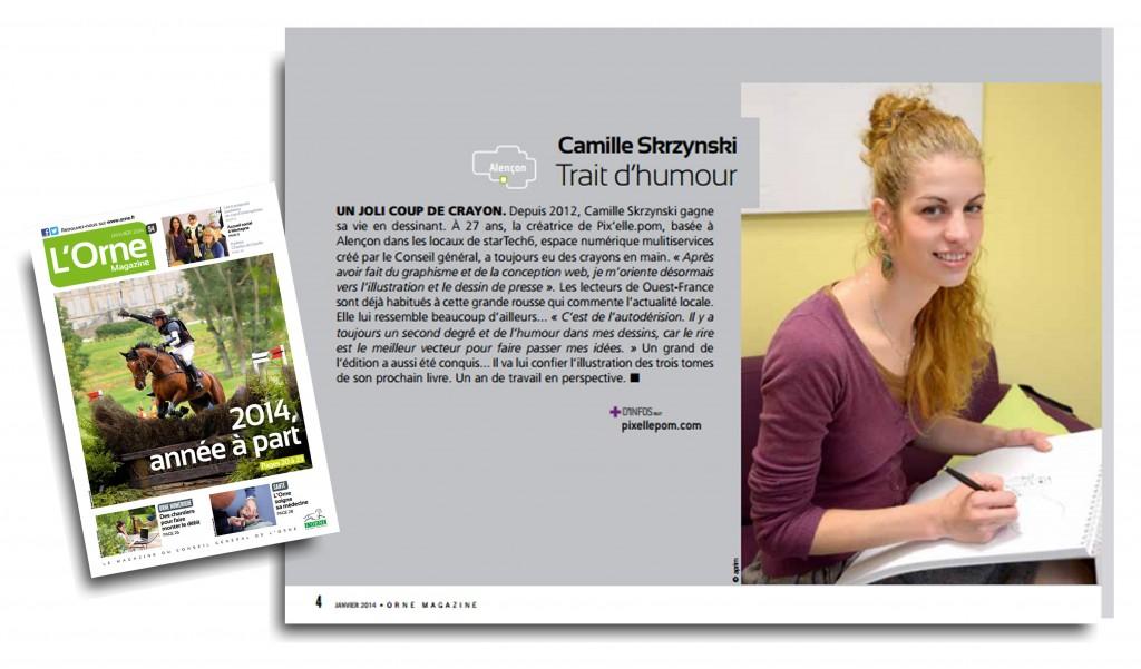 orne magazine - Camille Skrzynski