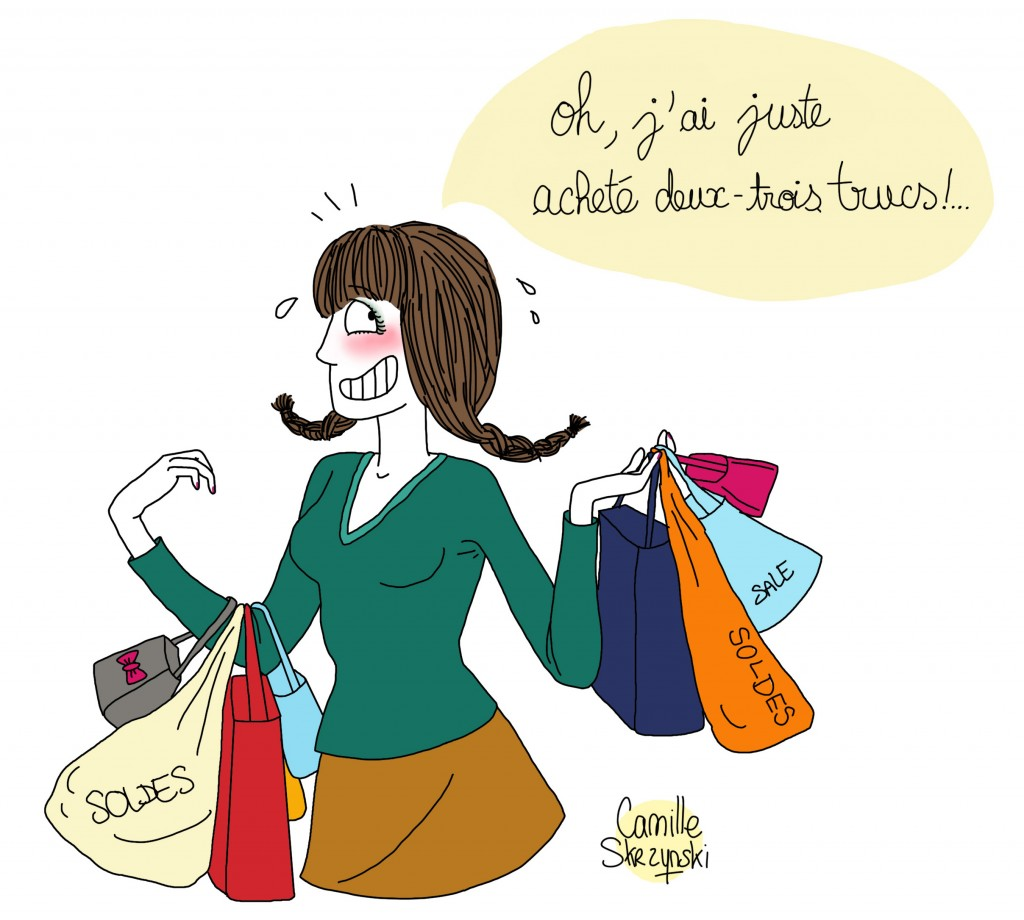 soldes_femme achats - Droits d'auteur : Camille Skrzynski