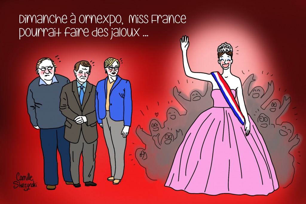 Miss France Alençon - Droits d'auteur : Camille Skrzynski