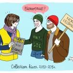 Dessin presse OF gilets jaunes - Droits d'auteur : Camille Skrzynski