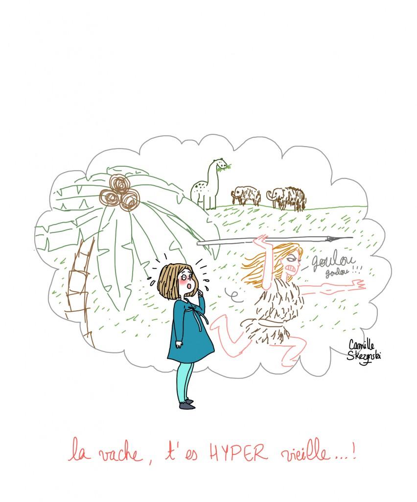 j'ai cinq ans ET DEMI - Droits d'auteur : Camille Skrzynski