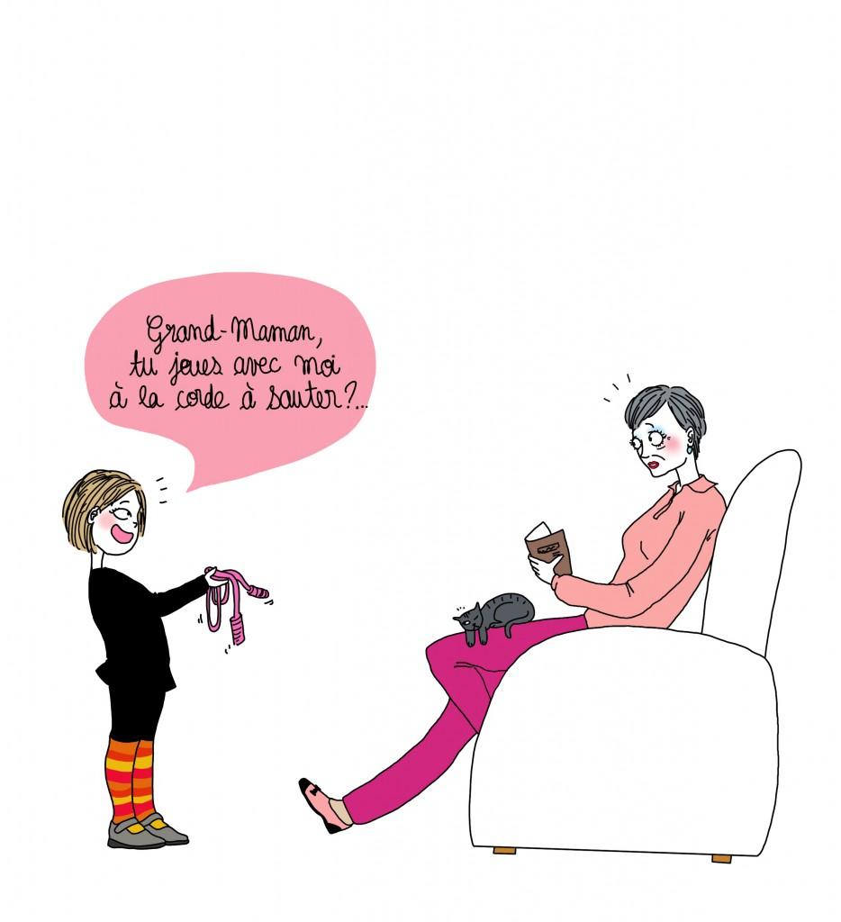 Bonne fête grand maman ! - Droits d'auteur : Camille Skrzynski