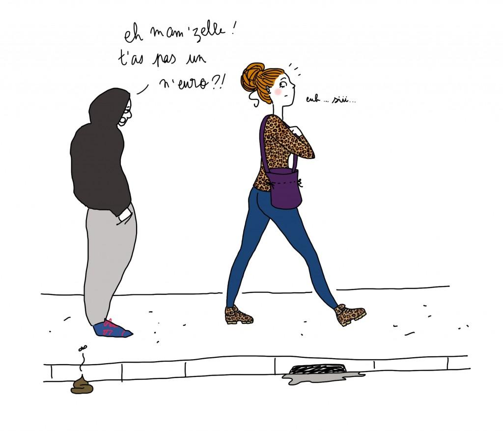 La honte à Paris - Droits d'auteur : Camille Skrzynski