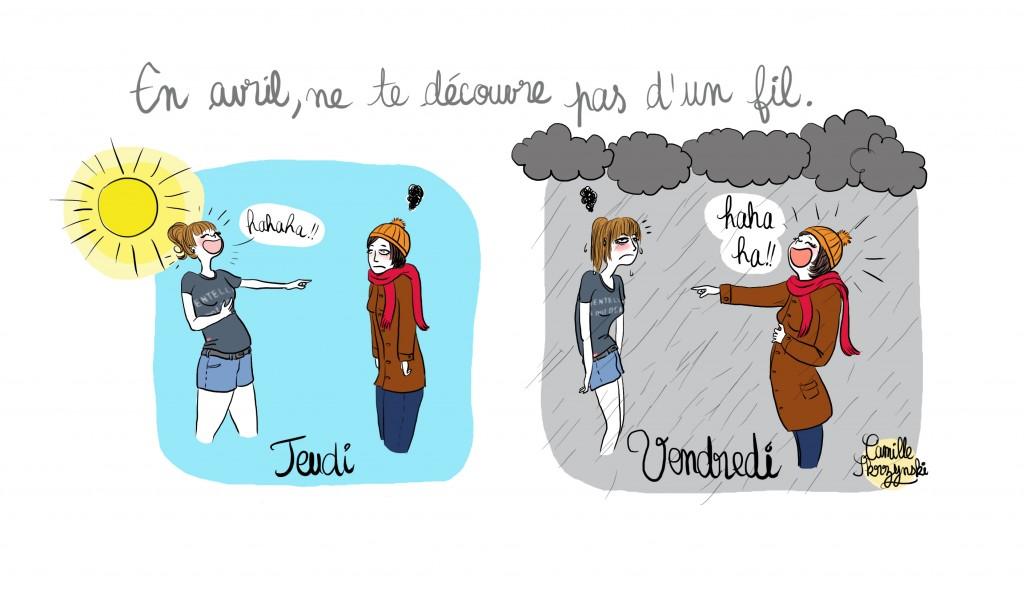 temps avril Ouest france - Camille Skrzynski