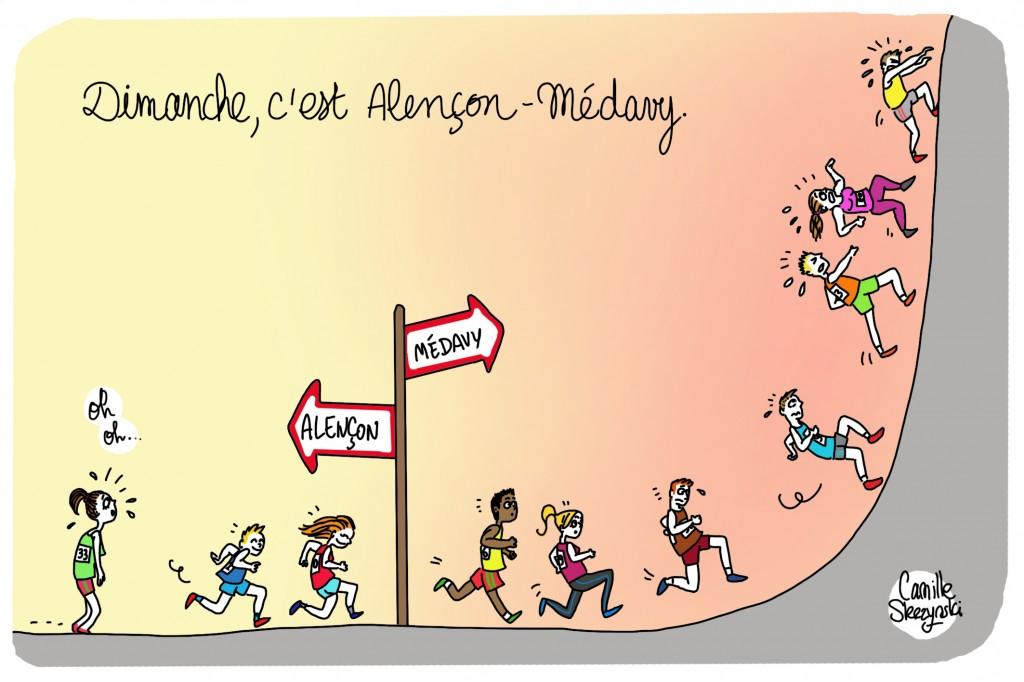 Alencon-Medavy Ouest france - Camille Skrzynski