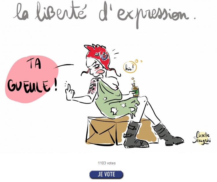 Votez pour moi si mon dessin vous pla t camille blog bd - Camille dessin ...