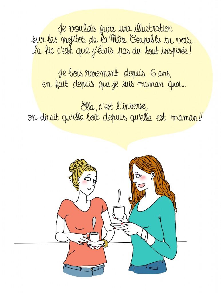 mere coupable mojito - Droits d'auteur : Camille Skrzynski