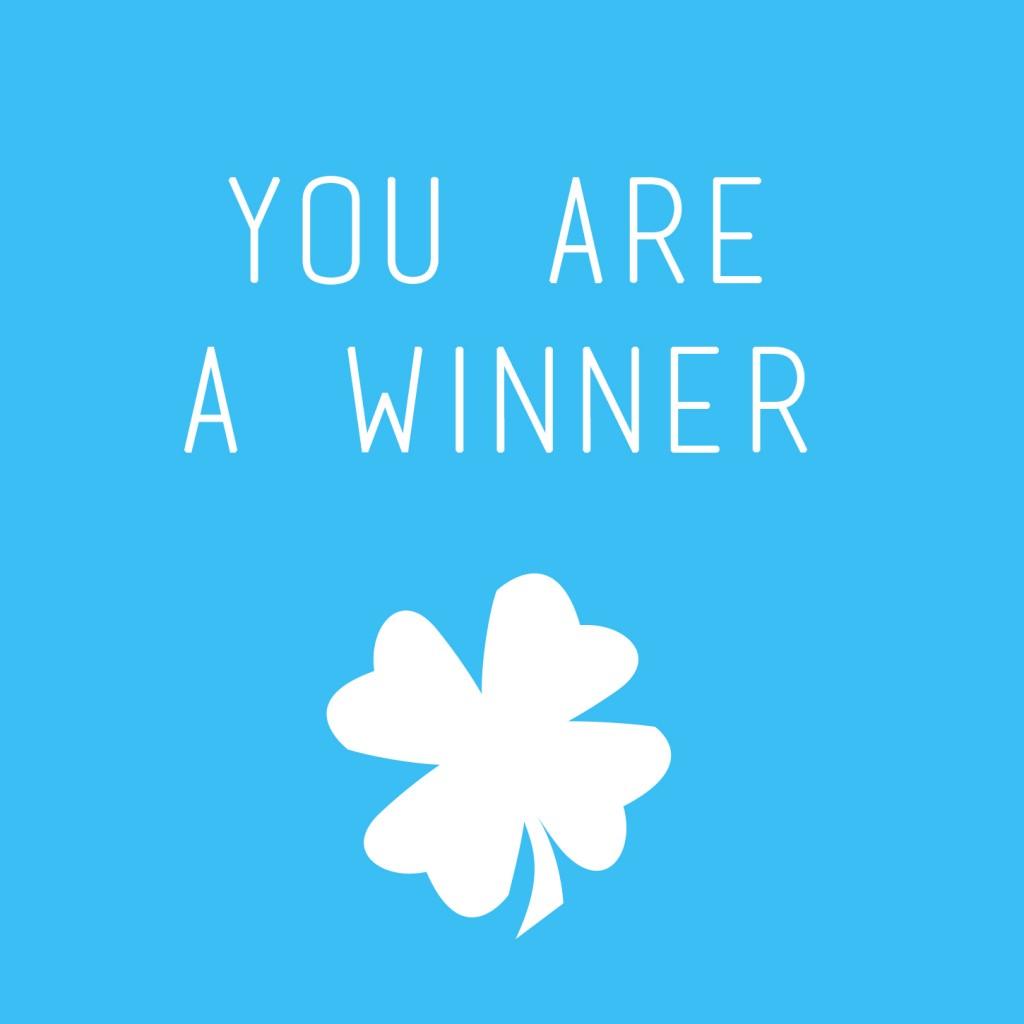 You're a winner - Camille Skrzynski
