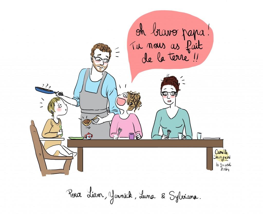 Famille Lamour - Droits d'auteur : Camille Skrzynski