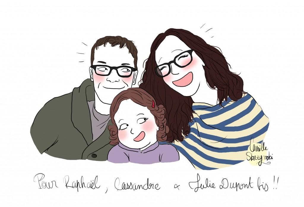 La famille de Julie bis  - Droits d'auteur : Camille Skrzynski