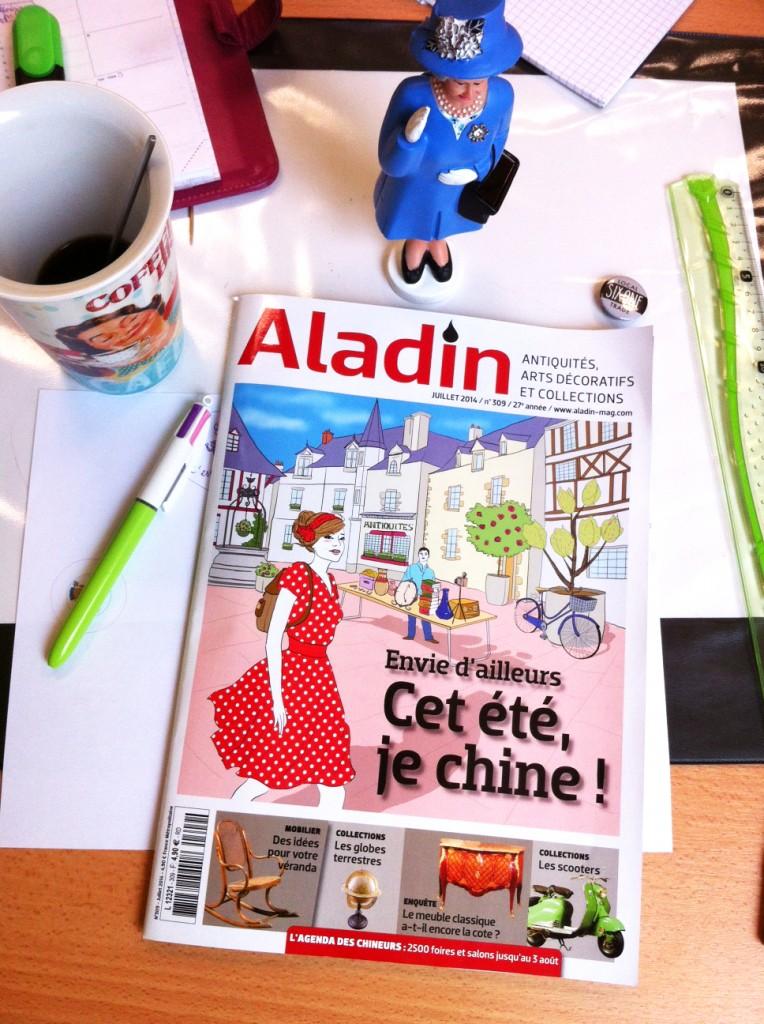 illustration couverture magazine - Camille Skrzynski