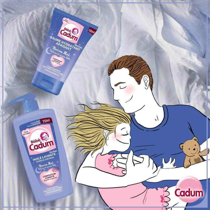 illustrations pour facebook Cadum