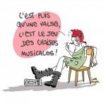 dessin presse Valls démission Marianne punk - Droits d'auteur : Camille Skrzynski