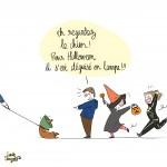 Halloween BD - Droits d'auteur : Camille Skrzynski