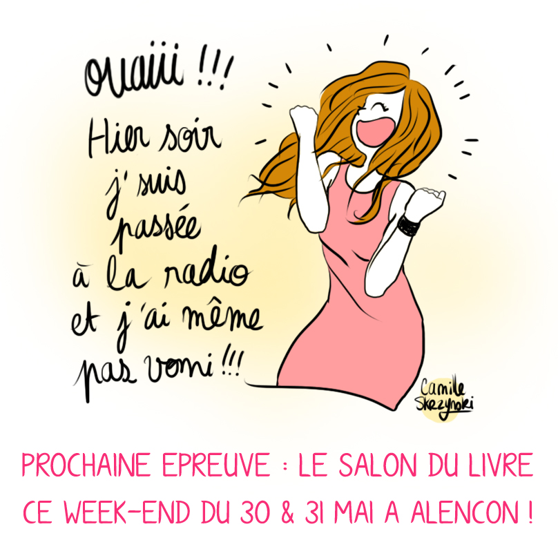 Salon du Livre Alencon - Camille Skrzynski