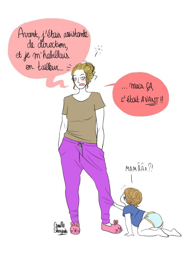 Mère au foyer FR2 Dorothée - Droits d'auteur : Camille Skrzynski