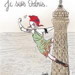 Marianne attentats Paris - Droits d'auteur : Camille Skrzynski