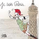 Marianne Punk Je suis Paris - Droits d'auteur: Camille Skrzynski