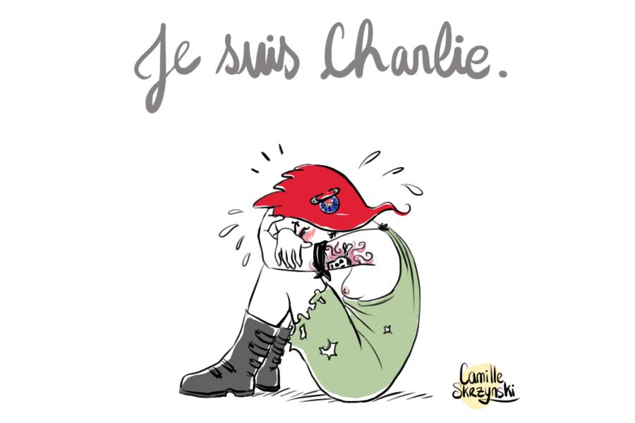 Marianne je suis Charlie - Droits d'auteur : Camille Skrzynski