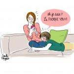 BD bébé phoque - Droits d'auteur : Camille Skrzynski