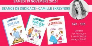 Camille Skrzynski en dédicace