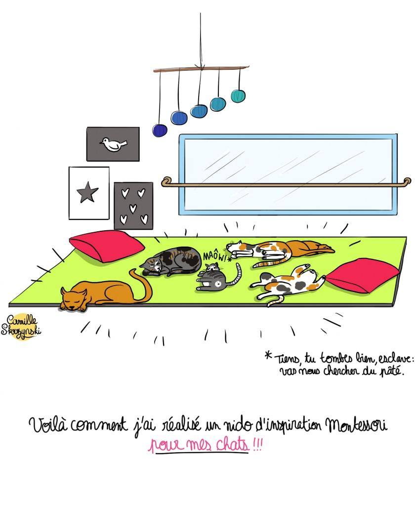Nido montessori - Droits d'auteur : Camille Skrzynski