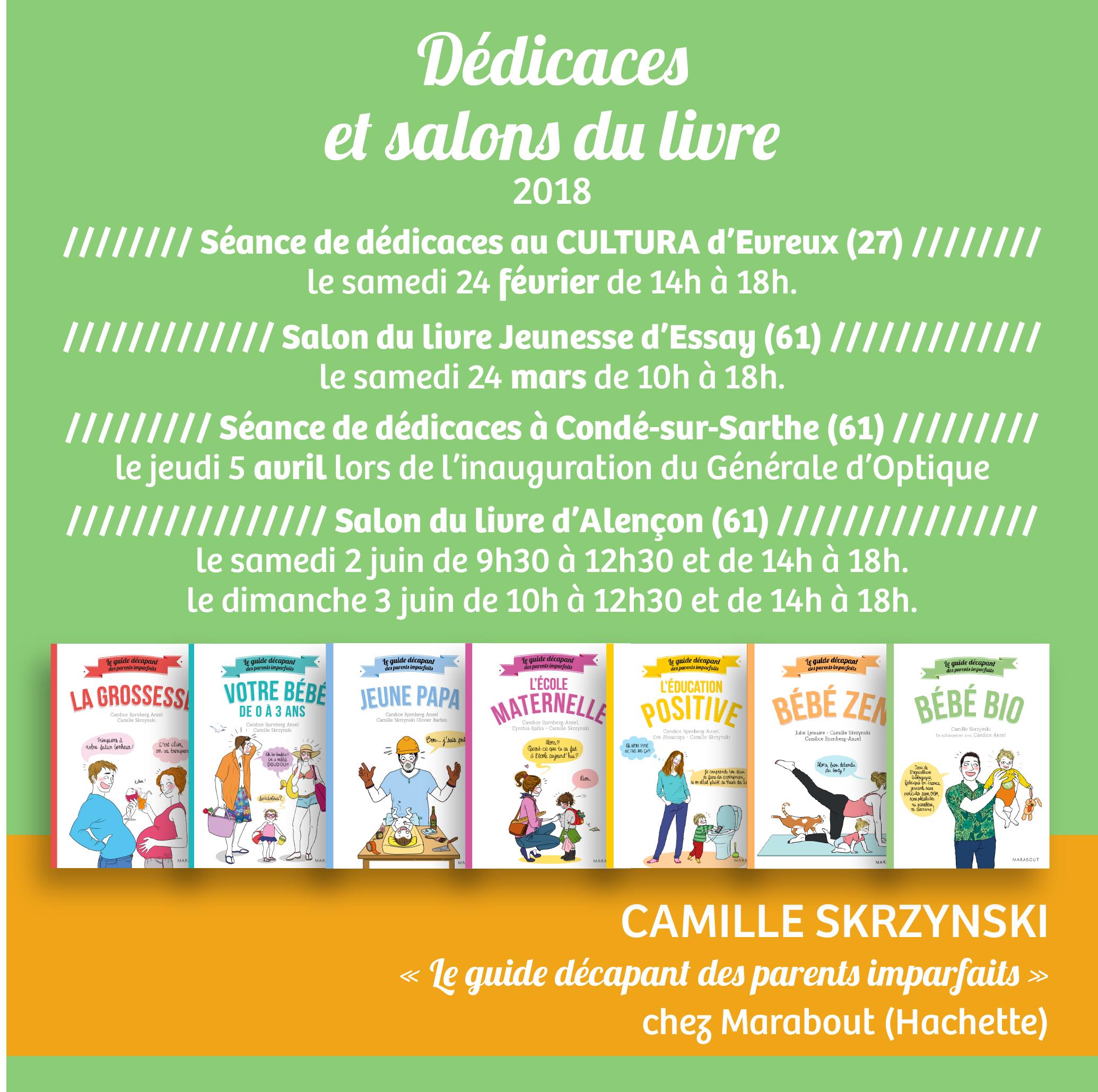 Dedicaces 2018 Camille Skrzynski