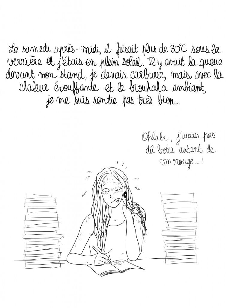 salon livre alencon - droits auteur : Camille Skrzynski