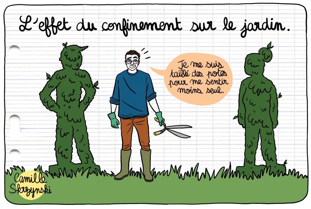 Journal d'un lycéen confiné Ouest France - Droits d'auteur : Camille Skrzynski