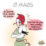 Marianne Punk journée femme - Droits d'auteur : Camille Skrzynski