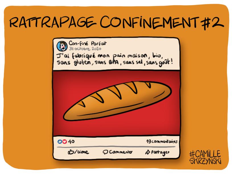 billet confini pain - droits d'auteur : Camille Skrzynski